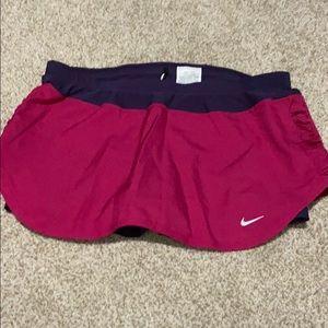 NWOT Nike Dryfit workout skort. Never worn.